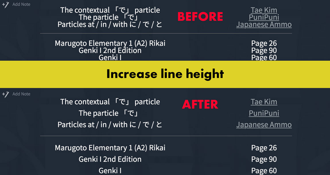 Increase-CSS-Line-Height